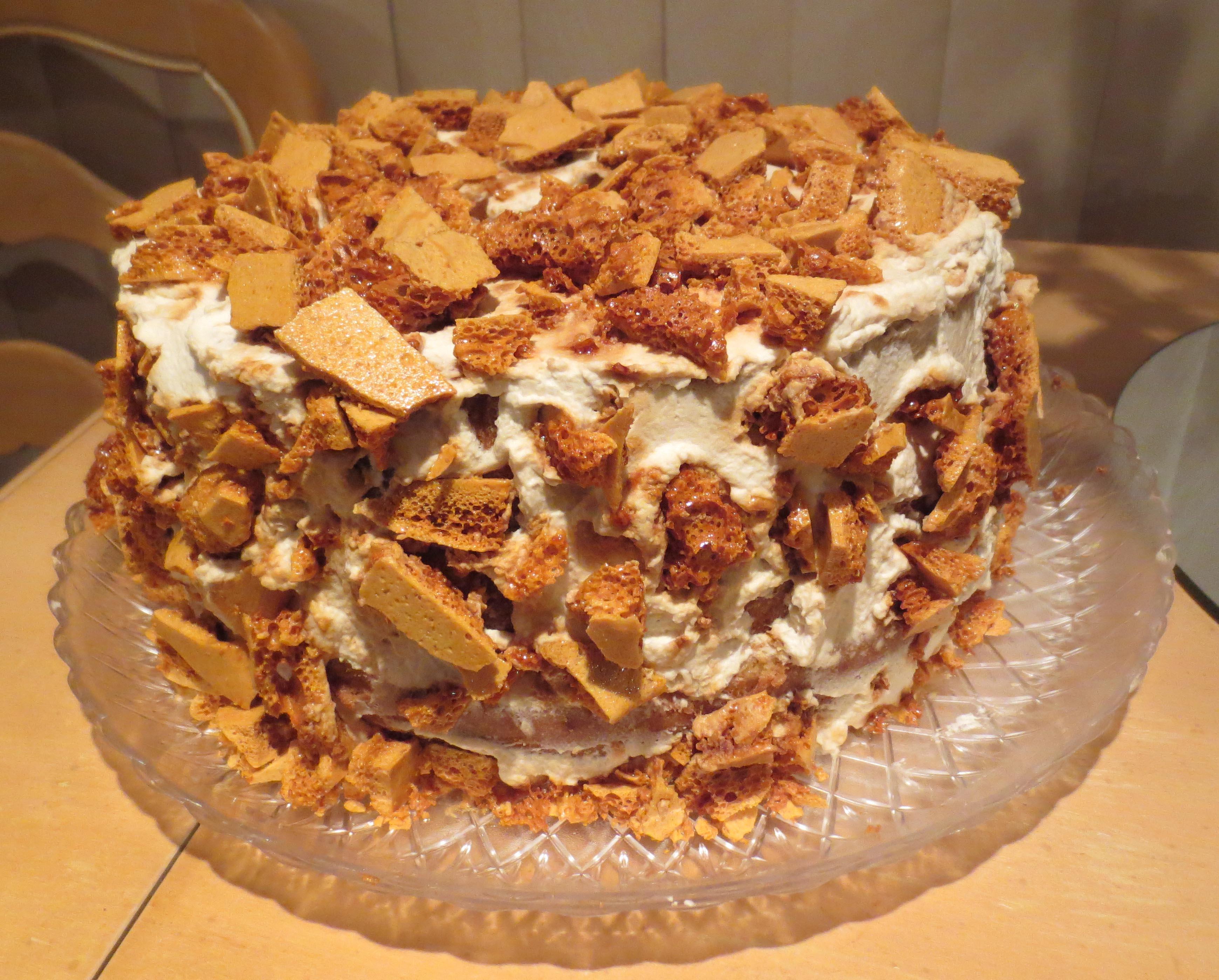 Martha Stewart Coffee Crunch Cake