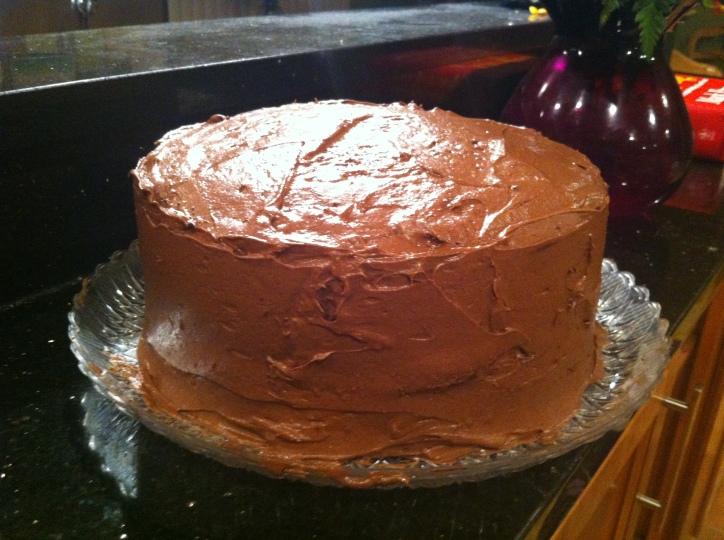 Dad's Chocolate Cake